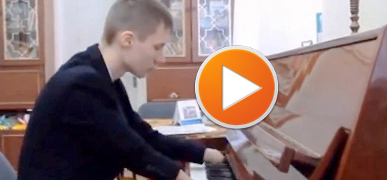 15-Летний Пианист Без Пальце! От Этого Видео Слёзы Навернулись На Глаза...